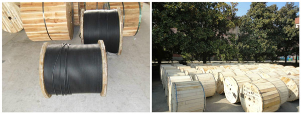Outdoor GYTA53 Fiber Optic Cable with Corrugated Steel Armoured Tape