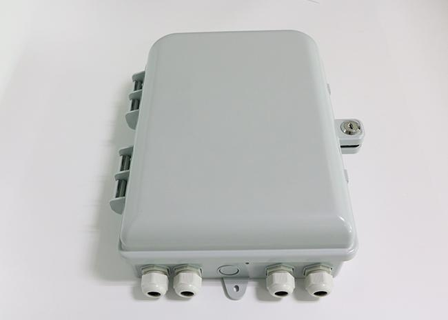 24 Port Outdoor Wall Mounted Fiber Optic Distribution Box With Extend Capacity