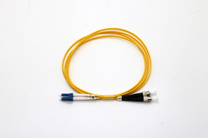 Singlemode / Multimode Fibre Optic Patch Leads Duplex Cable LC/SC/FC/ST Connector