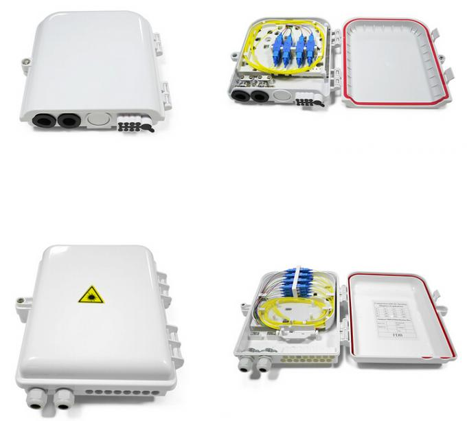 FDB FTTH 16 Cores Fiber Splitter Distribution Box Outdoor PLC Wall Mounted