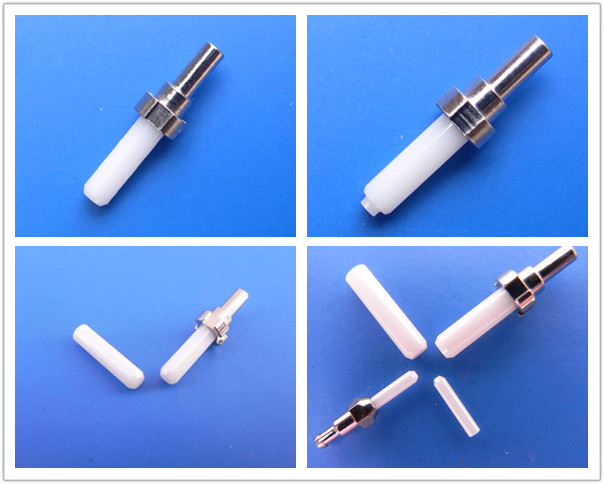Ceramic Fiber Optic Ferrule Singlemode Multimode For LC/SC/ST/FC Connector
