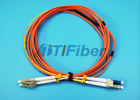 China SM LC to MM LC Fiber Optic Patch Cord Mode Conditioning Fiber Patch Cable - 1 Meter factory