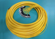 Premise Installations FC Simplex Fiber Optic Pigtail with 12 colors