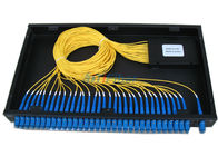 Good Quality Fiber Optic Patch Cord & Rack Mounted Fiber Optical Terminal Box , 19 Inch PLC Splitter Box on sale