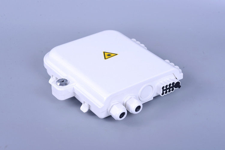 Indoor / Outdoor Wall Mounted Distribution Box Termination FTTH Optical Enclosure