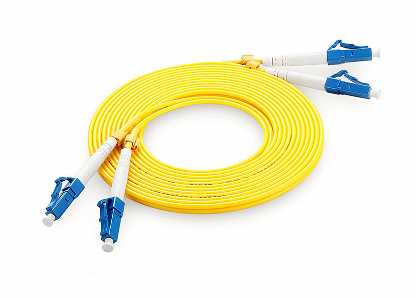Simplex Duplex Fiber Optic Patch Cord UPC/PC/APC ST LC FC SC With Low Insertion Loss