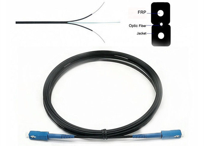 G652d Multimode Fiber Patch Cable 1F SC/UPC Drop 1 Core Fiber Count Customized Length