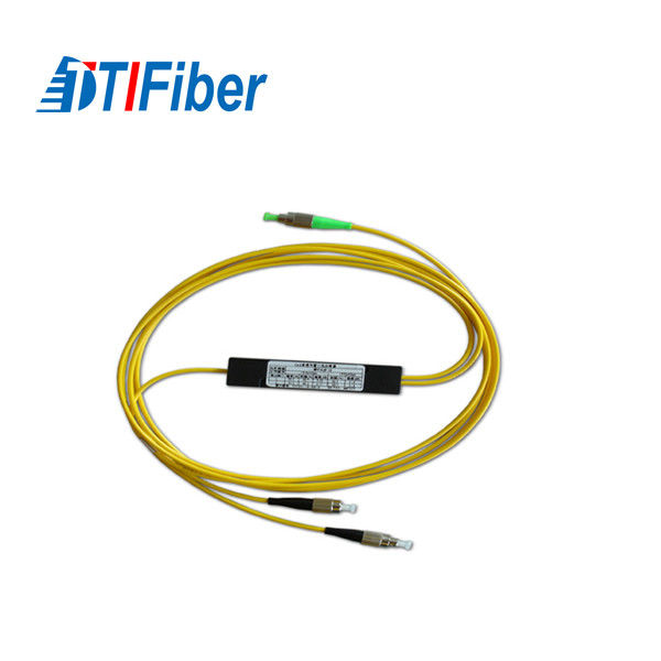 PLC Optical Wire Splitter , FTTH Digital Optical Audio Splitter Singlemode