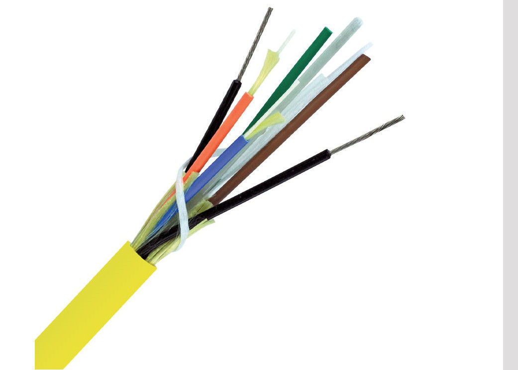6 Core Indoor Breakout Fiber Optic Cable With 2.0mm Cable Inner