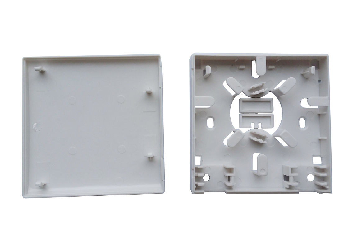 CATV networks 4 fibers FTTH PC Housing Socket Panel with LC Adapters