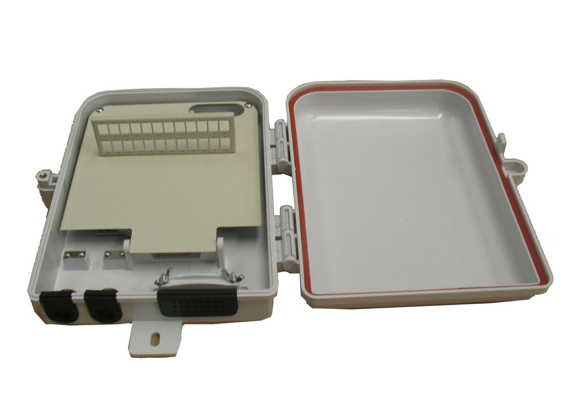 Indoor / outdoor plastic FTTH Solution with 24port Fiber Terminal Box