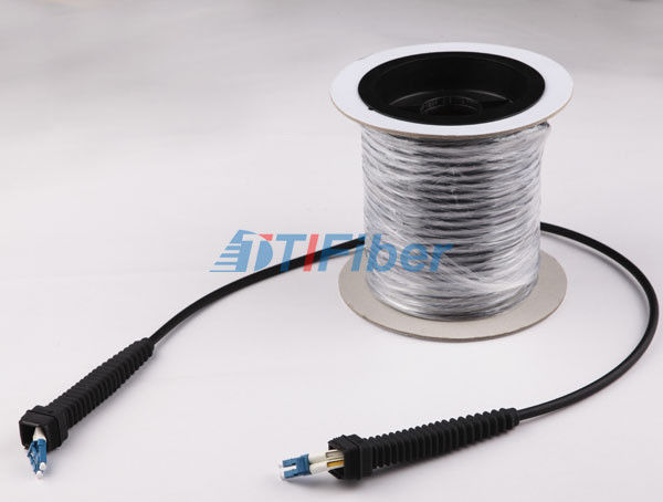 ODLC Fiber Patch Cord , 2 core Armoured GYFJH Fiber Optic Cable