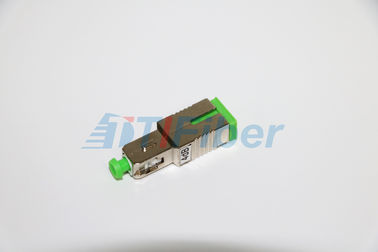 SC APC FTTH Fiber Optic Attenuator , multimode optical attenuator