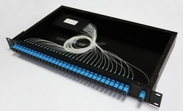 32 Core SC Optical Fiber Adapter MPO Patch Panel For Telecommunication