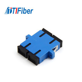 China Ftth Accessories Fiber Optic To Ethernet Adapter Without Flange SC Shutter factory