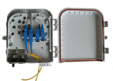 China Wall and pole mountable FTTH Solution , High impact plastic FTTH Distribution Box factory