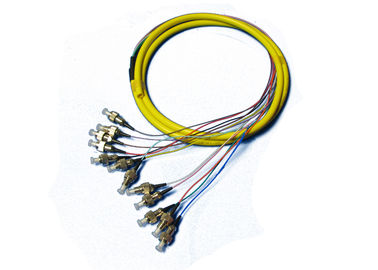 FC Singlemode Fiber Optic Pigtail with OFNP / OFNR Jacket
