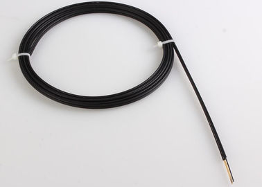 China 12cores LSZH Jacket Outdoor FTTH Fiber Cable with G657A Fiber , Black factory