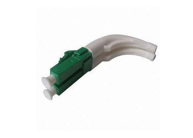 LC Duplex 3.0mm Fiber Optic Connector with 45degree Bent Boot