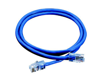 China data transmission CAT6E RJ45 UTP Network Patch Cord with 23AWG Solid Bare copper factory