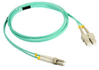 LSZH Jacket Duplex SC-LC Fiber Optic Patch Cord for Optical access network